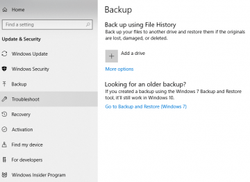 Setting Up Windows Backup in 7 Easy Steps screenshot