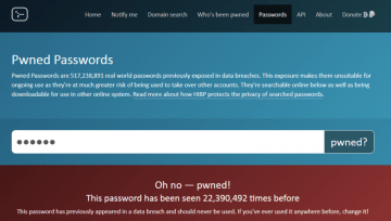 How Do You Know If You're Using a Pwned Password? screenshot