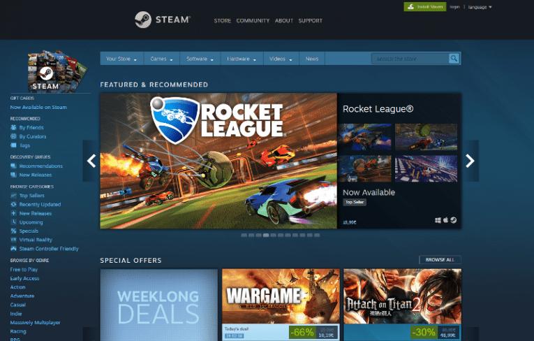 Steam Not Opening 2018