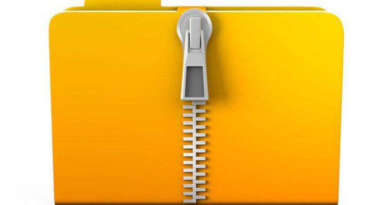 zip files password protected