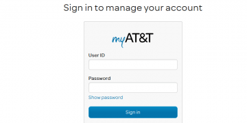 What to Do If You Forgot Your AT&T User ID Password screenshot