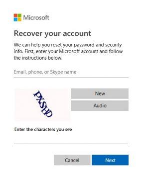 How to Reset a Skype Password
