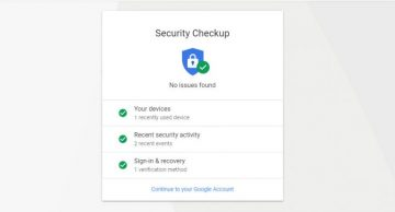 How to Distinguish If a Google Security Checkup Email Is Legitimate or Phishing screenshot
