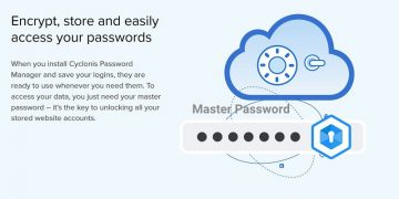 How to Manage Your Passwords Offline with Cyclonis Password Manager screenshot