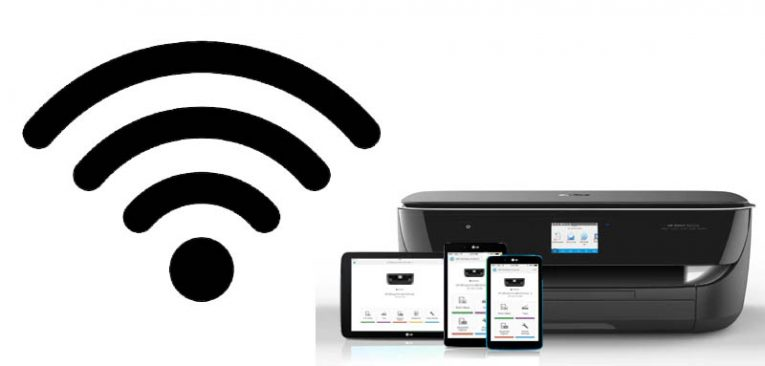 wireless printer password security