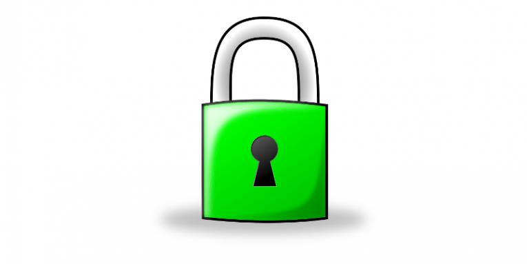 Green Padlock Icon