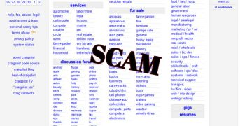 The Typical Craigslist Scams You Should Watch out For screenshot