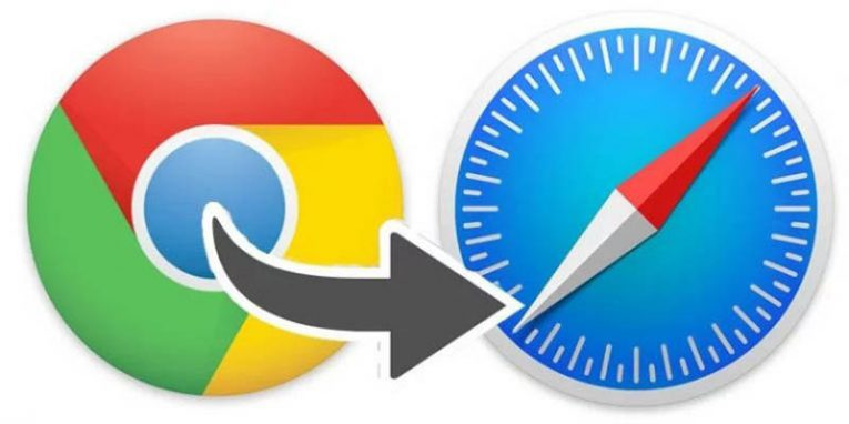 google chrome to safari saved passwords