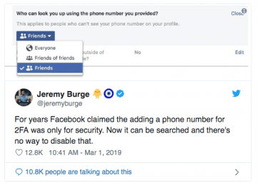 Anyone Can Trace Your Facebook Profile Using Your Phone Number If You Do  Not Hide It