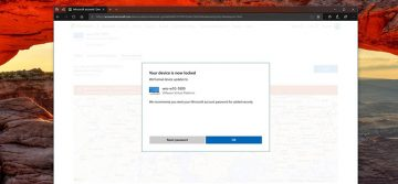How to Lock Your Windows 10 Computer Remotely When It Is Lost or Stolen screenshot