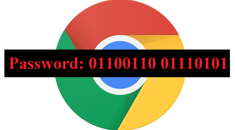 How to Show Passwords in Chrome on Computer and Mobile Phone screenshot