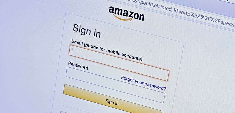 amazon login two factor authentication