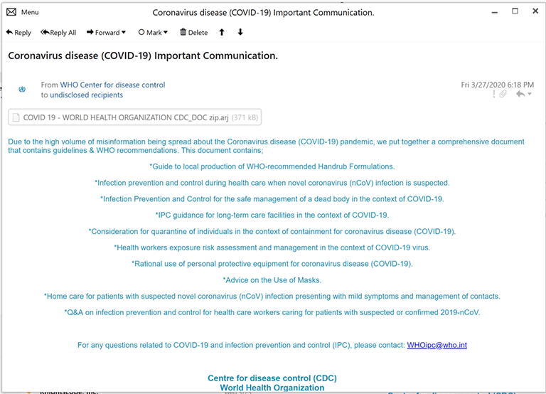 lokibot phishing email