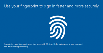 How to Remove Windows Hello Fingerprint screenshot