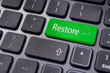 Creating a System Restore Point in Windows 10 screenshot
