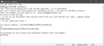 Remover BiggyLocker Ransomware screenshot