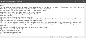 Remover Gooolag Ransomware screenshot