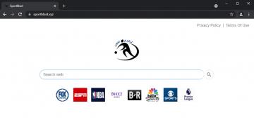 Rimuovere Sportblast.xyz screenshot