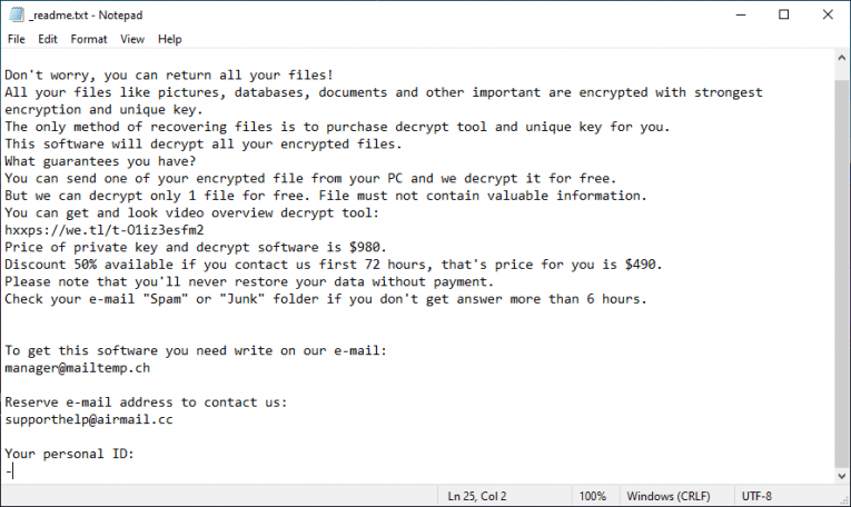 Nqsq Ransomware Ransom Note