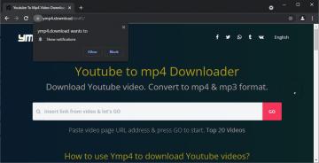 Ymp4.download è sicuro? screenshot