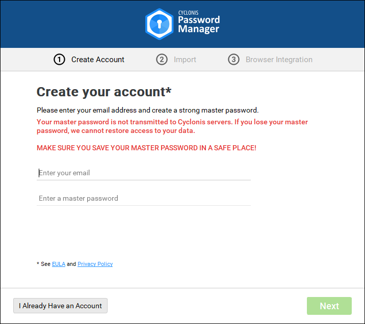 Cyclonis Password Manager S Help File Cyclonis
